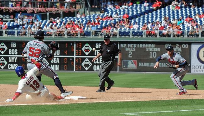 Philadelphia Phillies vs. Atlanta Braves - 9/8/15 MLB Pick, Odds, and Prediction