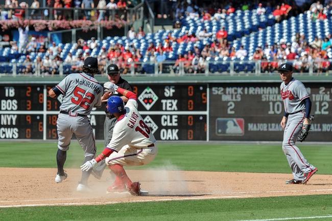 Philadelphia Phillies vs. Atlanta Braves - 9/7/15 MLB Pick, Odds, and Prediction