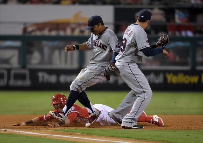 Los Angeles Angels vs. Cleveland Indians - 8/4/15 MLB Pick, Odds, and Prediction