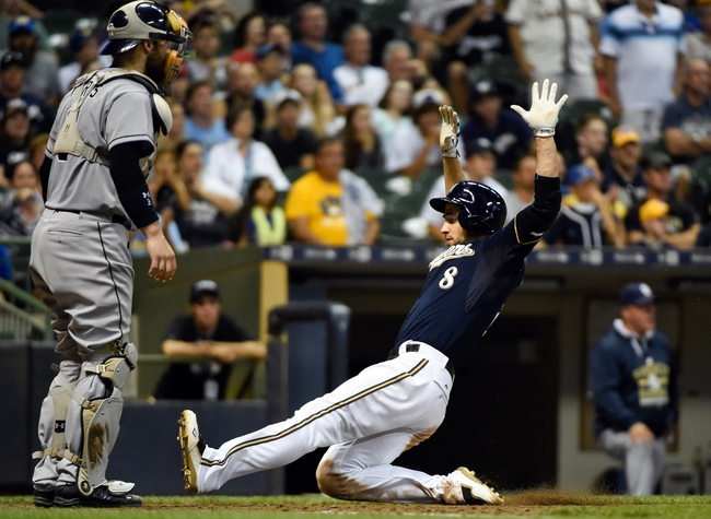Milwaukee Brewers vs. San Diego Padres - 8/6/15 MLB Pick, Odds, and Prediction