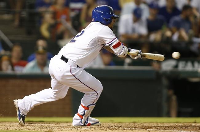Texas Rangers vs. Houston Astros - 8/5/15 MLB Pick, Odds, and Prediction