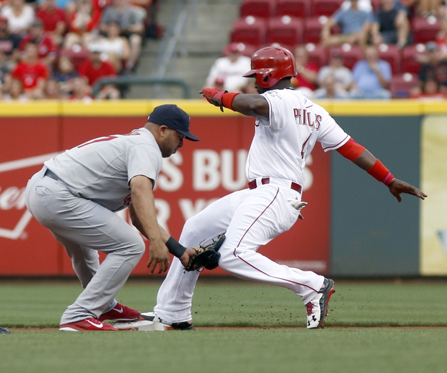 Reds vs. Cardinals - 8/6/15 MLB Pick, Odds, and Prediction