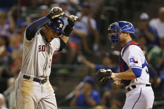 Rangers vs. Astros - 9/14/15 MLB Pick, Odds, and Prediction