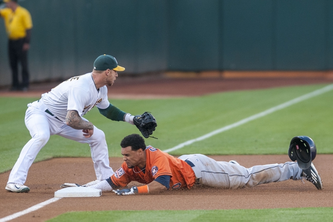 Oakland Athletics vs. Houston Astros - 8/7/15 MLB Pick, Odds, and Prediction