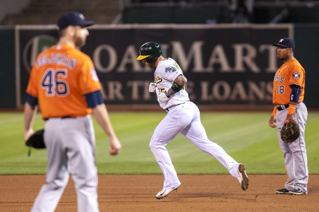 Oakland Athletics vs. Houston Astros - 8/8/15 MLB Pick, Odds, and Prediction