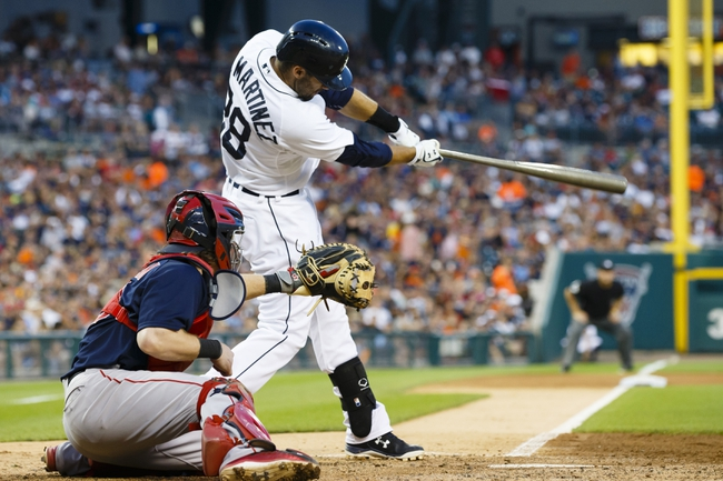 Tigers vs. Red Sox - 8/8/15 MLB Pick, Odds, and Prediction