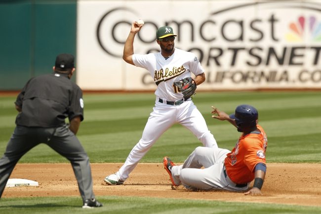 Oakland Athletics vs. Houston Astros - 8/9/15 MLB Pick, Odds, and Prediction
