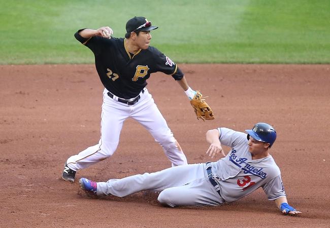 Pirates vs. Dodgers - 8/9/15 MLB Pick, Odds, and Prediction