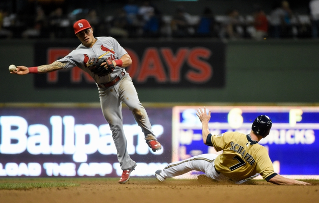 Milwaukee Brewers vs. St. Louis Cardinals - 8/9/15 MLB Pick, Odds, and Prediction
