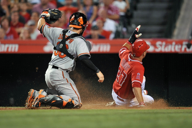 Los Angeles Angels vs. Baltimore Orioles - 8/9/15 MLB Pick, Odds, and Prediction