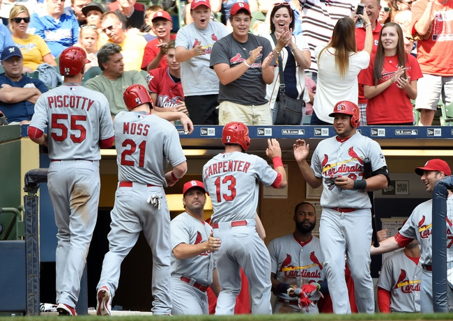 Milwaukee Brewers vs. St. Louis Cardinals - 9/15/15 MLB Pick, Odds, and Prediction