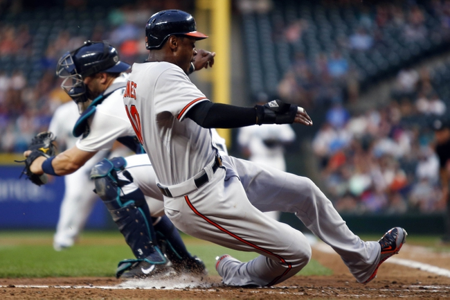 Seattle Mariners vs. Baltimore Orioles - 8/11/15 MLB Pick, Odds, and Prediction