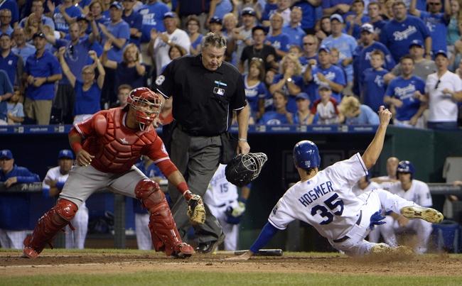 Kansas City Royals vs. Los Angeles Angels - 8/14/15 MLB Pick, Odds, and Prediction