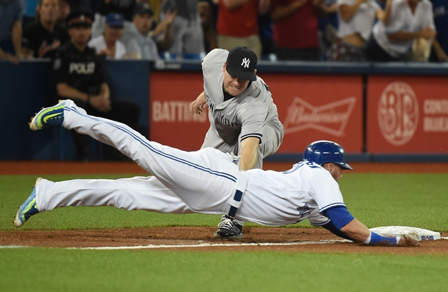 Toronto Blue Jays vs. New York Yankees - 8/15/15 MLB Pick, Odds, and Prediction