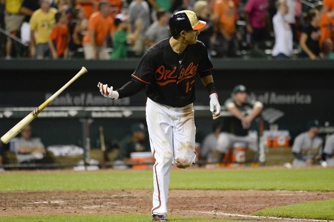 Baltimore Orioles vs. Oakland Athletics - 8/16/15 MLB Pick, Odds, and Prediction