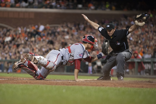 San Francisco Giants vs. Washington Nationals - 8/15/15 MLB Pick, Odds, and Prediction