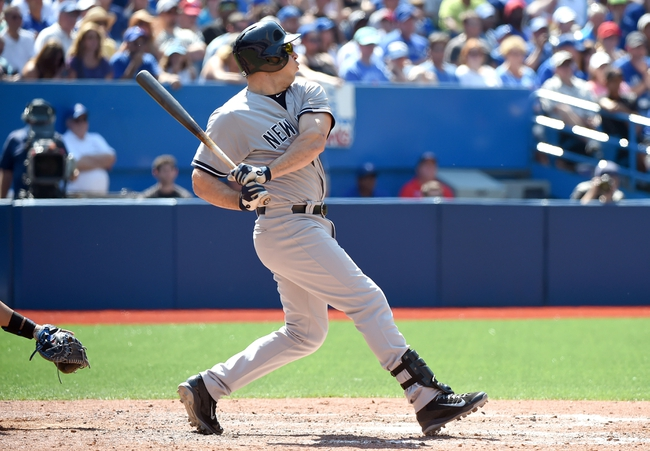 Blue Jays vs. Yankees - 8/16/15 MLB Pick, Odds, and Prediction