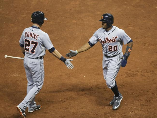 Houston Astros vs. Detroit Tigers - 8/16/15 MLB Pick, Odds, and Prediction