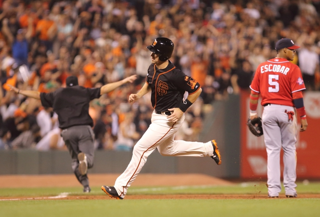 San Francisco Giants vs. Washington Nationals - 8/16/15 MLB Pick, Odds, and Prediction