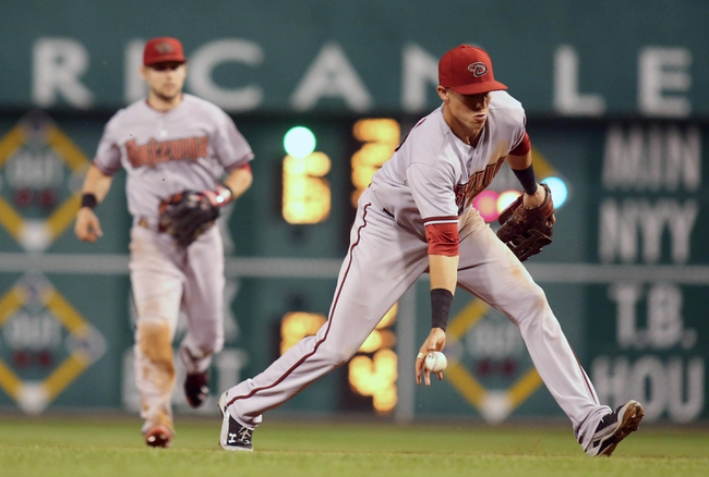 Pittsburgh Pirates vs. Arizona Diamondbacks - 8/18/15 MLB Pick, Odds, and Prediction