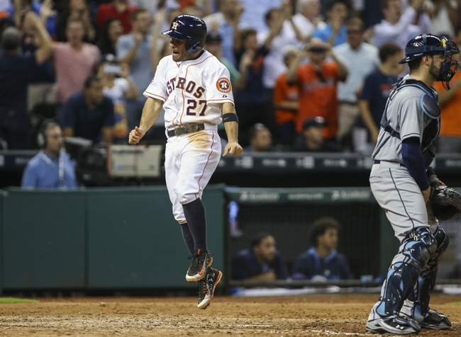 Astros vs. Rays - 8/19/15 MLB Pick, Odds, and Prediction