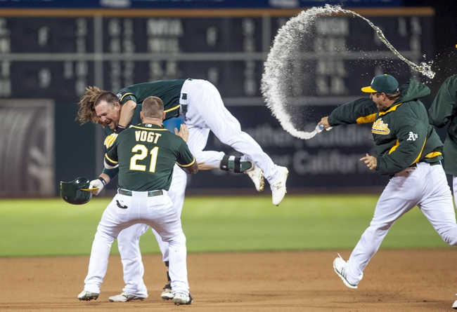 Oakland Athletics vs. Los Angeles Dodgers - 8/19/15 MLB Pick, Odds, and Prediction