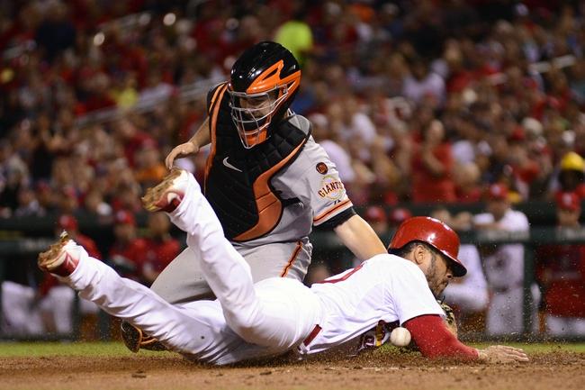 San Francisco Giants vs. St. Louis Cardinals - 8/28/15 MLB Pick, Odds, and Prediction