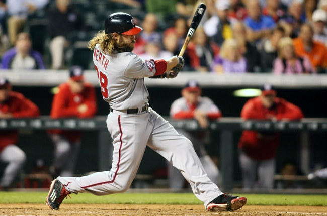 Colorado Rockies vs. Washington Nationals - 8/20/15 MLB Pick, Odds, and Prediction