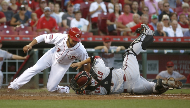 Cincinnati Reds vs. Arizona Diamondbacks - 8/22/15 MLB Pick, Odds, and Prediction