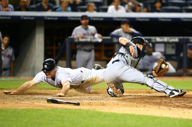 New York Yankees vs. Cleveland Indians - 8/22/15 MLB Pick, Odds, and Prediction