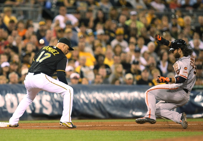 Pittsburgh Pirates vs. San Francisco Giants - 8/22/15 MLB Pick, Odds, and Prediction
