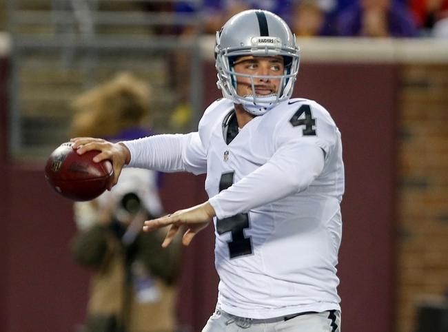 Cardinals vs. Raiders - 8/30/15 NFL Pick, Odds, and Prediction