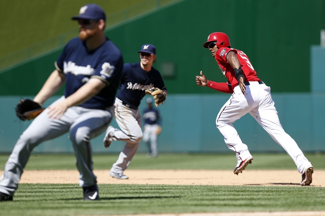 Brewers vs. Nationals - 6/24/16 MLB Pick, Odds, and Prediction