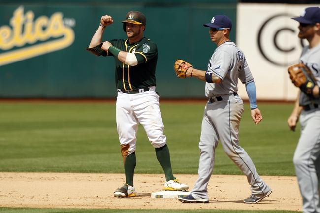 Athletics at Rays - 5/13/16 MLB Pick, Odds, and Prediction
