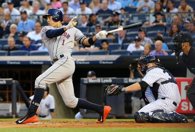 Yankees vs. Astros - 8/25/15 MLB Pick, Odds, and Prediction