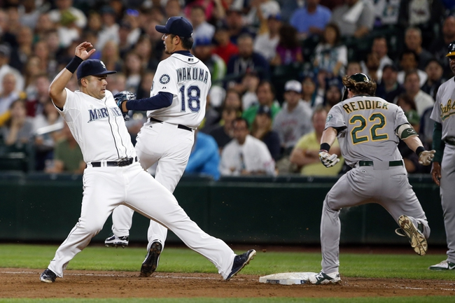 Seattle Mariners vs. Oakland Athletics - 8/25/15 MLB Pick, Odds, and Prediction