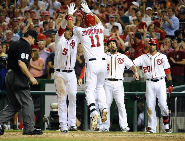 Washington Nationals vs. San Diego Padres - 8/26/15 MLB Pick, Odds, and Prediction