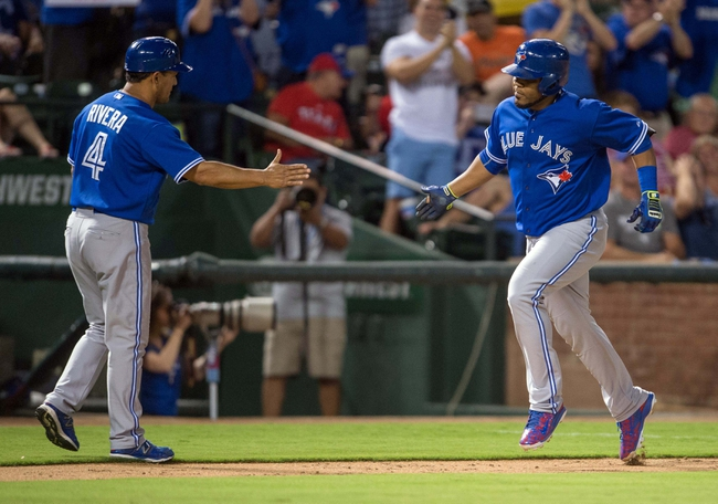 Texas Rangers vs. Toronto Blue Jays - 8/27/15 MLB Pick, Odds, and Prediction
