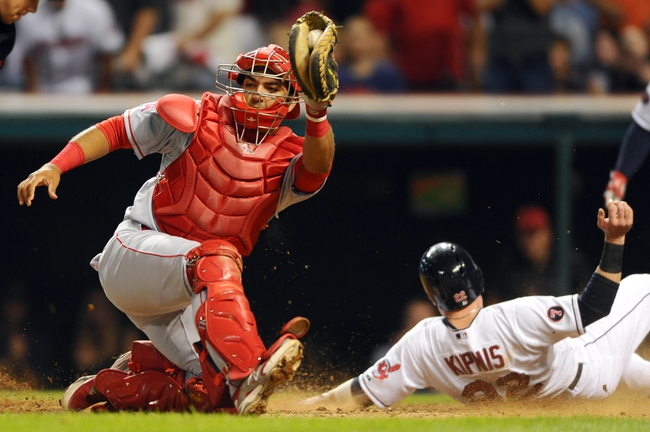 Cleveland Indians vs. Los Angeles Angels - 8/29/15 MLB Pick, Odds, and Prediction