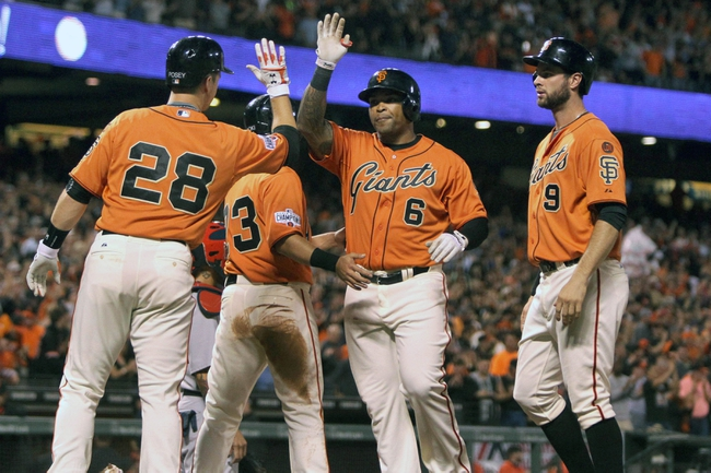 San Francisco Giants vs. St. Louis Cardinals - 8/29/15 MLB Pick, Odds, and Prediction