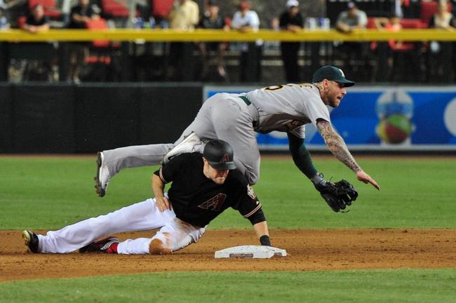 Arizona Diamondbacks vs. Oakland Athletics - 8/30/15 MLB Pick, Odds, and Prediction