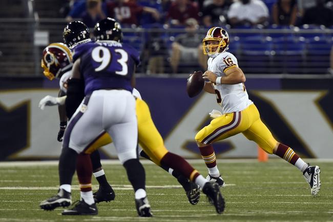 Washington Redskins at Baltimore Ravens- 10/9/16 NFL Pick, Odds, and Prediction