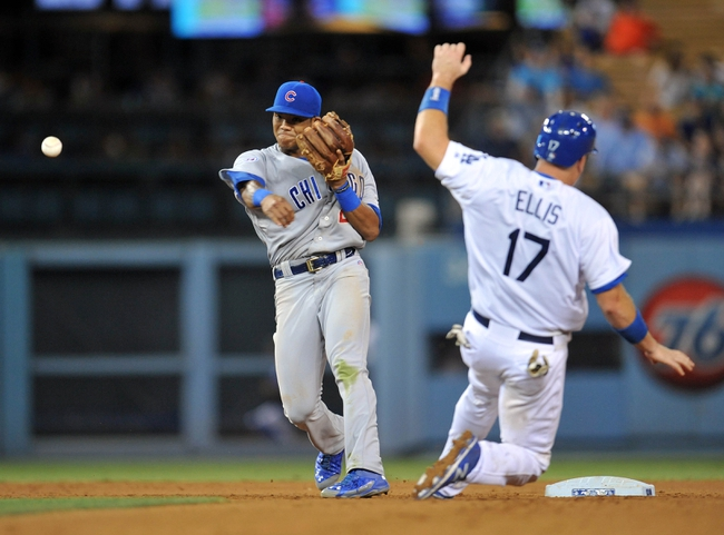 Los Angeles Dodgers vs. Chicago Cubs - 8/30/15 MLB Pick, Odds, and Prediction