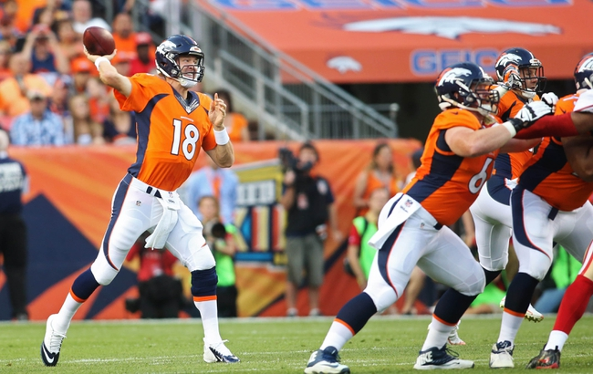 Baltimore Ravens at Denver Broncos - 9/13/15 NFL Pick, Odds, and Prediction