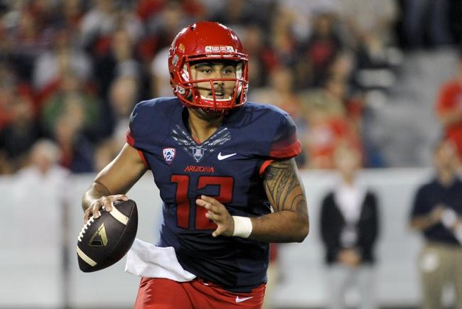Arizona vs. Northern Arizona - 9/19/15 College Football Pick, Odds, and Prediction