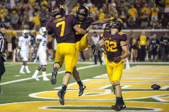 Michigan Wolverines vs. Minnesota Golden Gophers - 10/31/15 College Football Pick, Odds, and Prediction