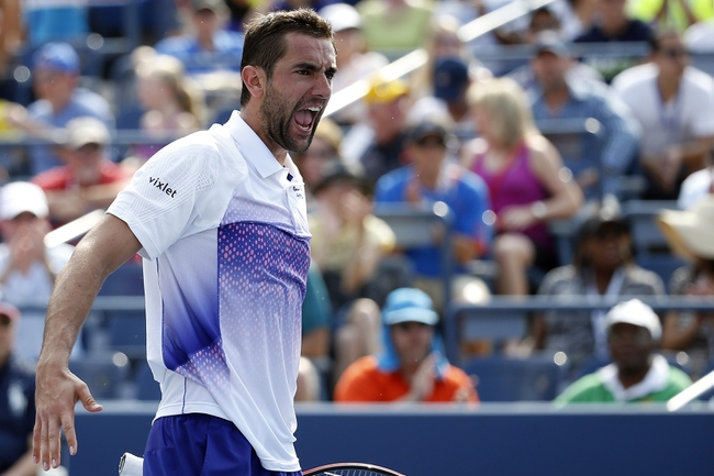 Marin Cilic vs. Jeremy Chardy 2015 US Open Pick, Odds, Prediction