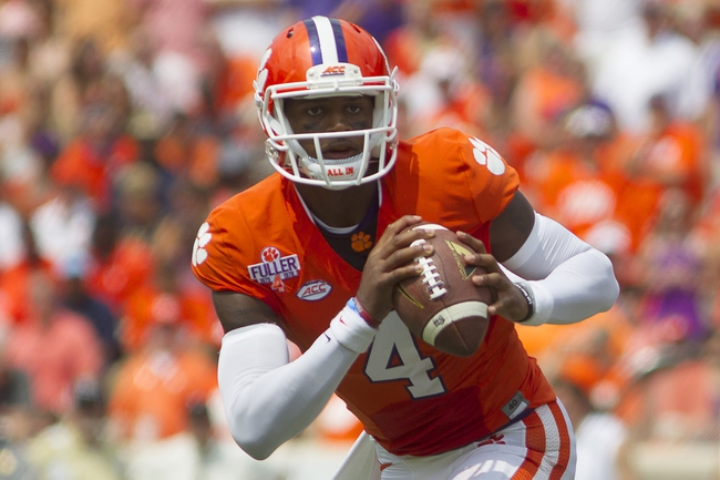 Appalachian State Mountaineers vs. Clemson Tigers - 9/12/15 College Football Pick, Odds, and Prediction