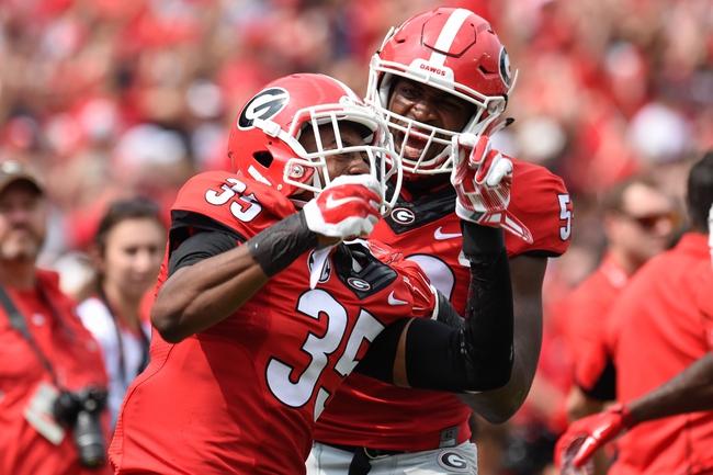 Georgia Bulldogs vs. South Carolina Gamecocks - 9/19/15 College Football Pick, Odds, and Prediction