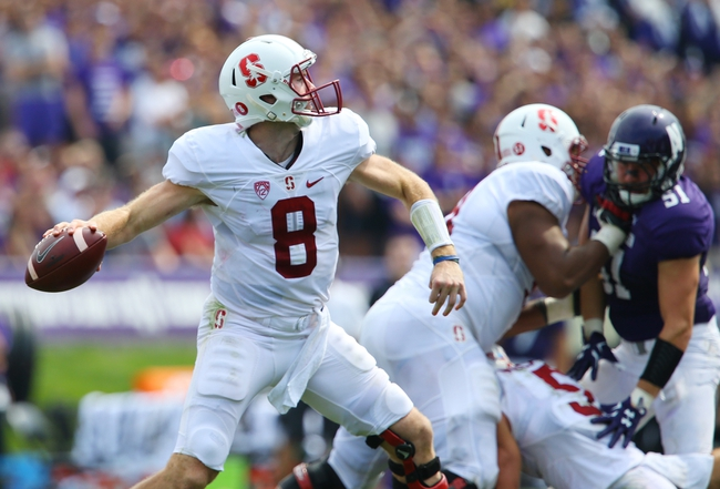 Stanford Cardinal vs. Arizona Wildcats - 10/3/15 College Football Pick, Odds, and Prediction